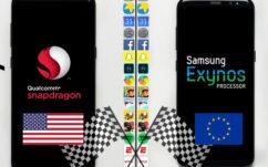 Galaxy S8 Exynos vs Snapdragon : le test de rapidité ultime, en vidéo