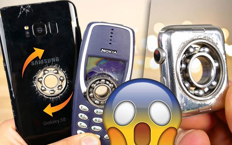 galaxy s8 nokia 3310 apple watch hand spinner