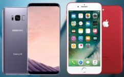 Galaxy S8 vs iPhone 7 : Samsung explose enfin Apple dans un benchmark