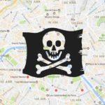 google maps pirate