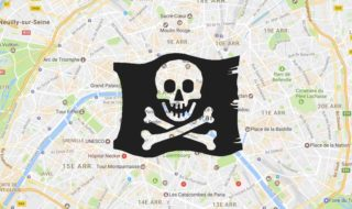 google maps pirate