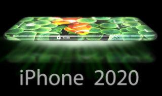 iphone 2020 concept ecran video