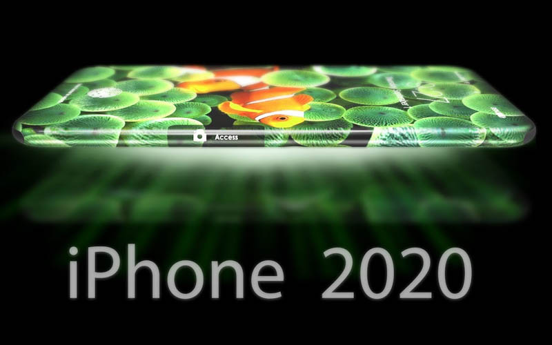 iphone 2020 concept ecran video