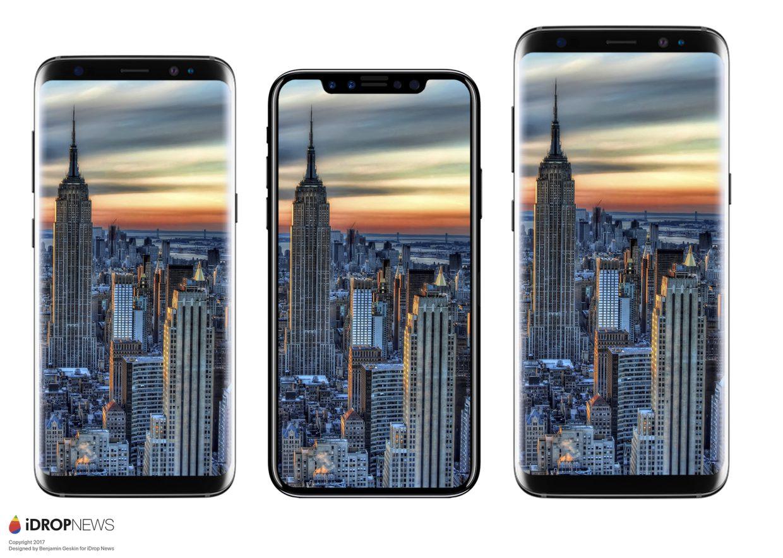 iphone 8 rendus