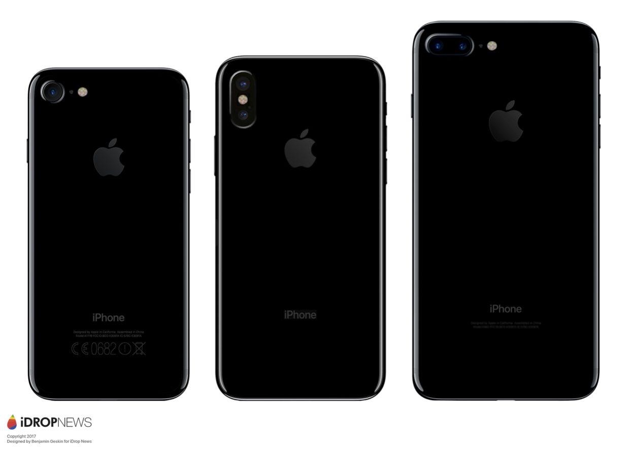 IPhone 8 : les rumeurs en schéma