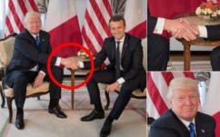 Macron vs Trump : sur Twitter, leur poignée de main musclée a bien fait rire les internautes