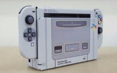 Nintendo Switch : ce magnifique skin SNES Super Famicom va faire des jaloux