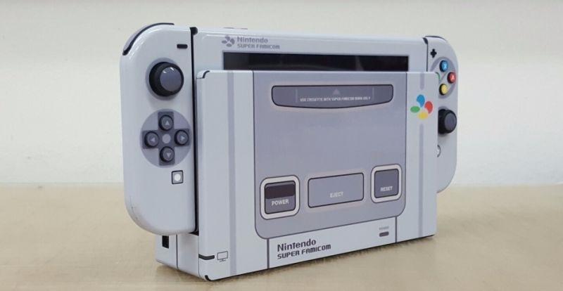 Nintendo switch famicom