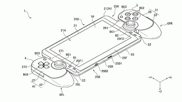 playstation vita 2 brevet
