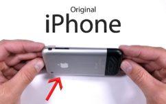 Apple : le tout premier iPhone succombe à la torture d'un Youtubeur dans un test de durabilité, en vidéo
