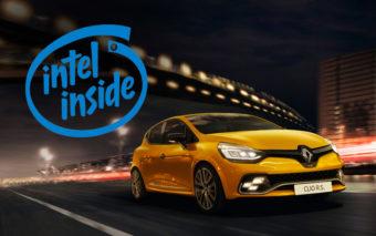 Renault rachète la R&D d'Intel en France pour ses voitures connectées, une première !