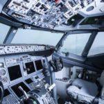 robot atterrir avion boeing 747