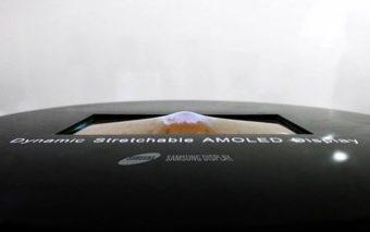 Samsung dévoile un fascinant écran OLED étirable pour les smartphones du futur