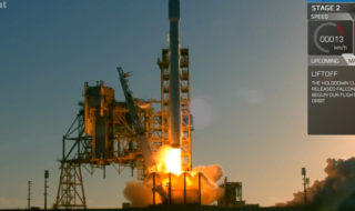 SpaceX met en orbite un imposant satellite avec sa Falcon 9, en vidéo