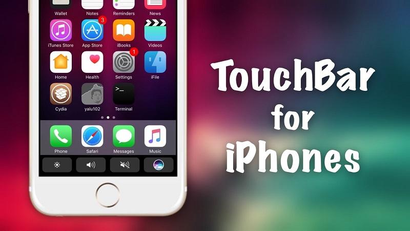 touchbar iphone