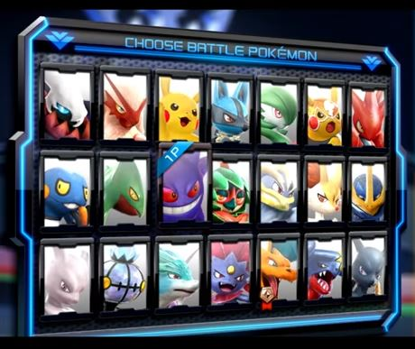 Roster Pokken Tournament