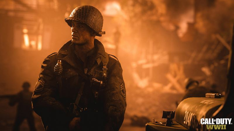 E3 2017 : Call of Duty WWII, du gameplay pour le multi