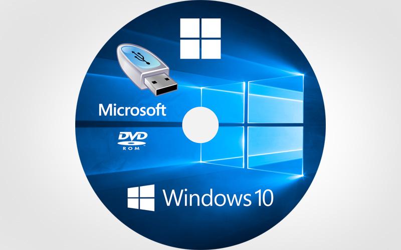 DISQUE DE RÉPARATION WINDOWS 10  Disque-lecteur-recuperation-systeme-windows10