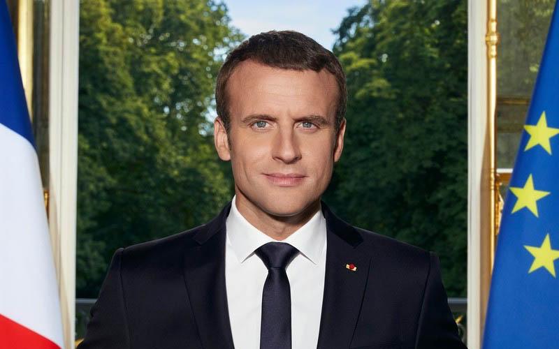 L'histoire secrète camouflée dans son portrait officiel — Emmanuel Macron