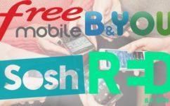 Bon plans forfaits mobile : Free Mobile, B&You, SFR Red et Sosh, quelle est la meilleure promo du moment ?