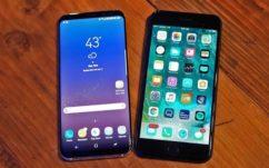 Le Galaxy S8 est bien meilleur que l'iPhone 7 selon le «Que Choisir» américain