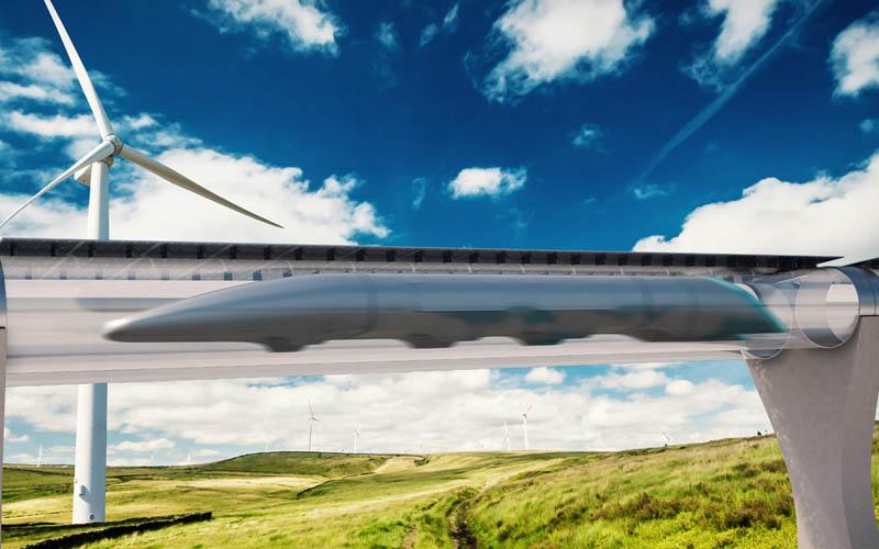 hyperloop paris amsterdam