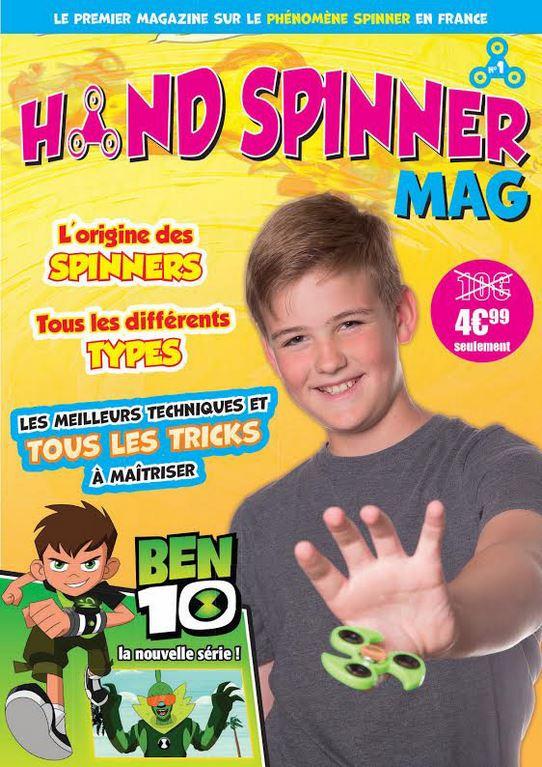 magazine hand spinner