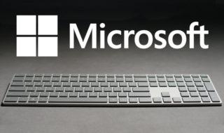 Modern Keyboard : Microsoft lance un sublime clavier sans fil avec capteur d'empreintes intégré, en vidéo