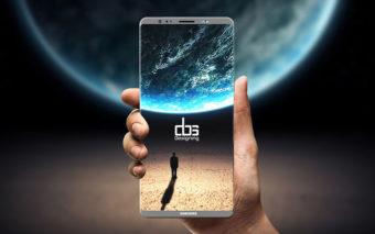 Galaxy Note 8 : pourquoi le capteur d'empreintes intégré à l'écran n'est pas encore prêt
