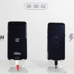 oneplus 5 vs galaxy s8 recharge rapide