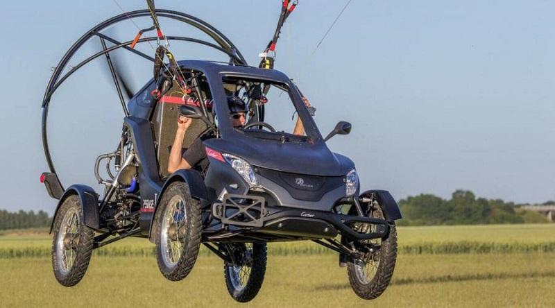 pegase voiture volante