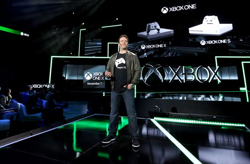 phil spencer xbox one x