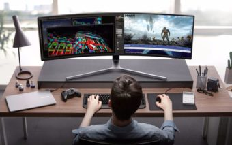 Samsung vend désormais cet écran monstrueux de 49 pouces pour gamers !