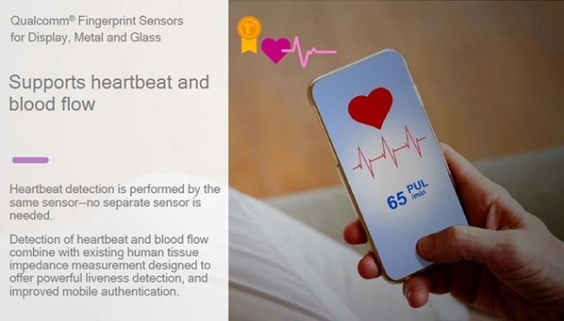 Snapdragon sense id rythme cardiaque