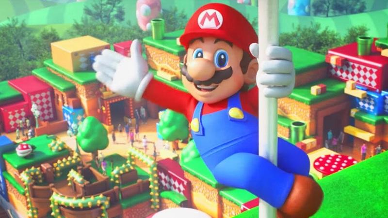 Le Super Nintendo World pose sa première pierre