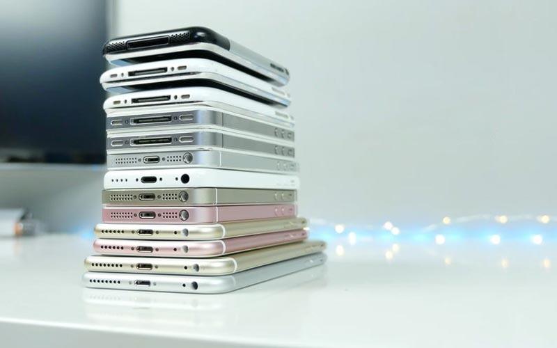 Tous les iphone