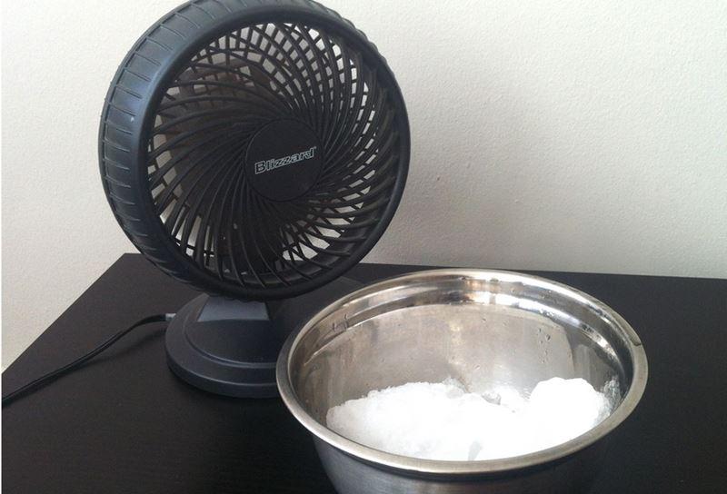 ventilateur glace