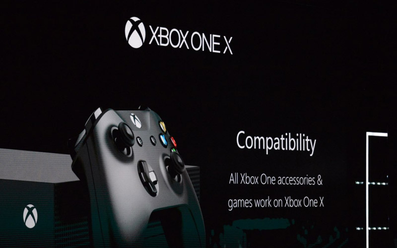xbox one x officielle