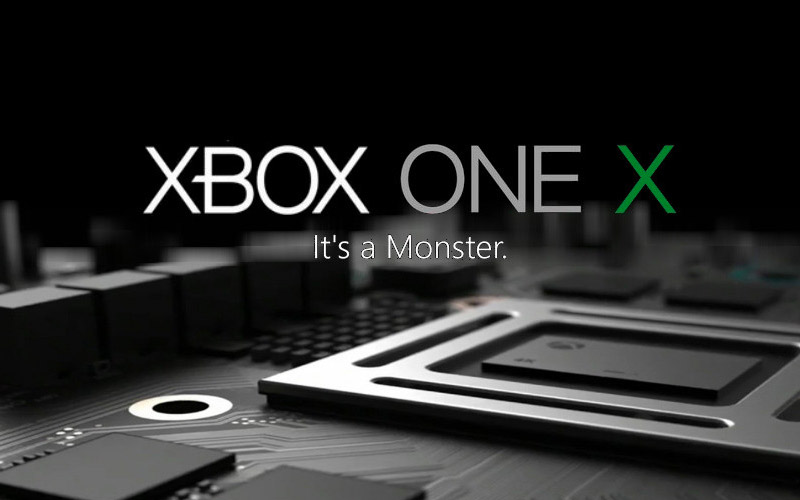 xbox one x scorpio sortie le 7 novembre 2017 au prix. Black Bedroom Furniture Sets. Home Design Ideas