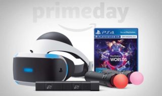 Amazon Prime Day : PlayStation VR + Camera + VR Worlds + 2x PS Move pour 449,99 euros