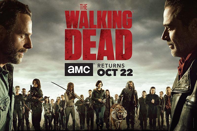date lancement the walking dead saison 8