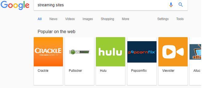 google meilleurs sites streaming recherche