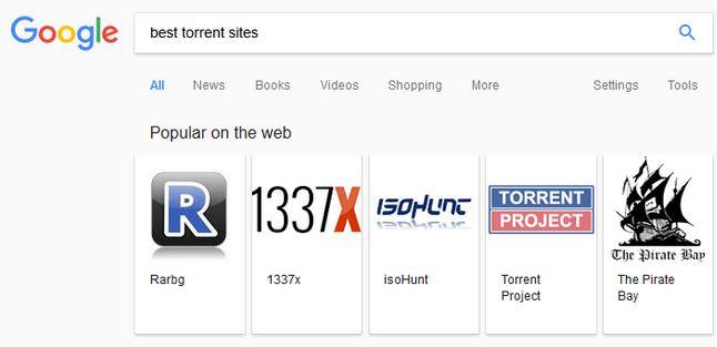 google meilleurs sites torrent recherche