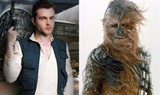 Han Solo : Chewbacca rencontre Alden Ehrenreich sur les premières photos du tournage