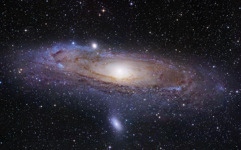 L'homme constitué en partie de matière intergalactique (étude)