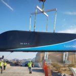 hyperloop one test capsule