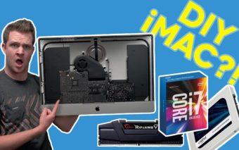 iMac 5K : RAM, CPU, GPU, un Youtubeur gonfle lui même son iMac à bloc pour une fraction du prix facturé par Apple, en vidéo