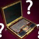 insolite ordinateur portable etrange