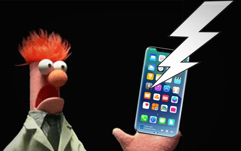 iphone 8 panique apple