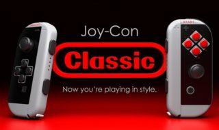 Nintendo Switch : ces Joy-Con aux couleurs de la NES vont vous faire craquer